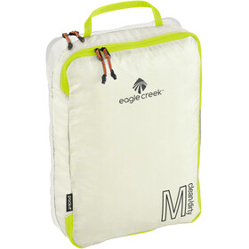 Eagle Creek Pack-It Specter Tech Clean/Dirty Cube M white/strobe